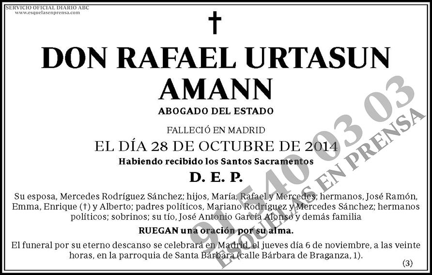 Rafael Urtasun Amann